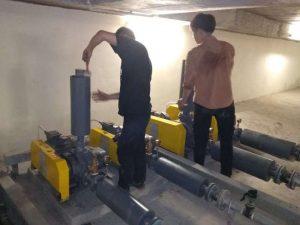 bảo dưỡng hệ thống xử lý nước thải