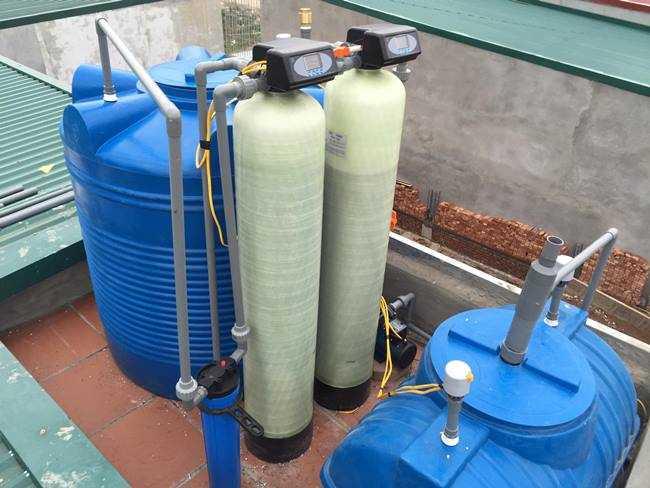 Cách xử lý nước giếng có mùi hôi