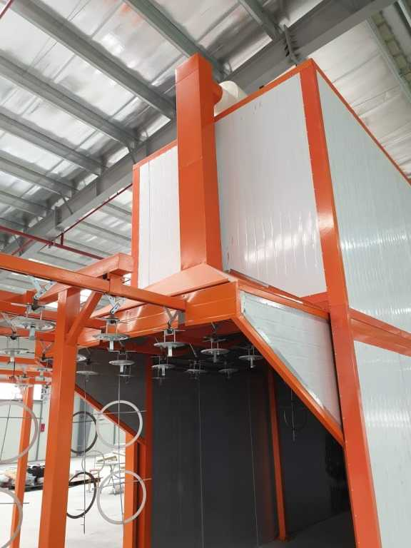 Hệ thống xử lý khí thải bụi sơn