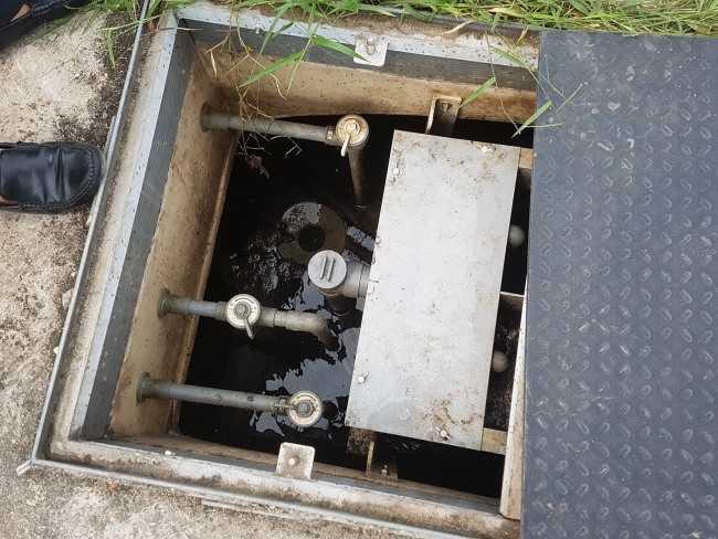 bể lắng đứng trong xử lý nước thải