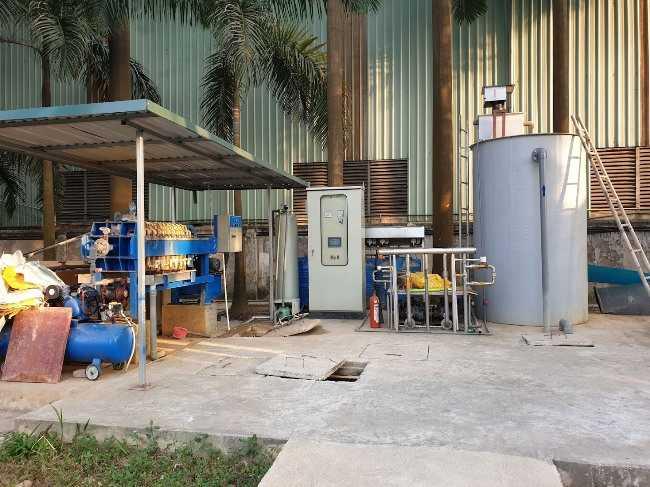 chi phí xử lý nước thải công nghiệp