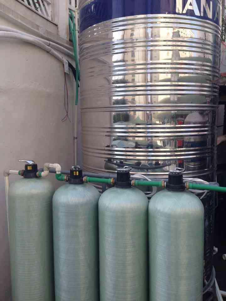 hệ thống bể lọc nước giếng khoan CCEP