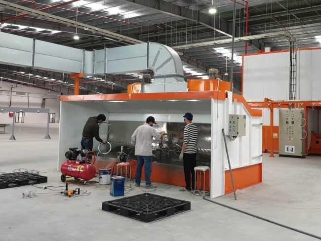 hệ thống xử lý khí thải phòng sơn