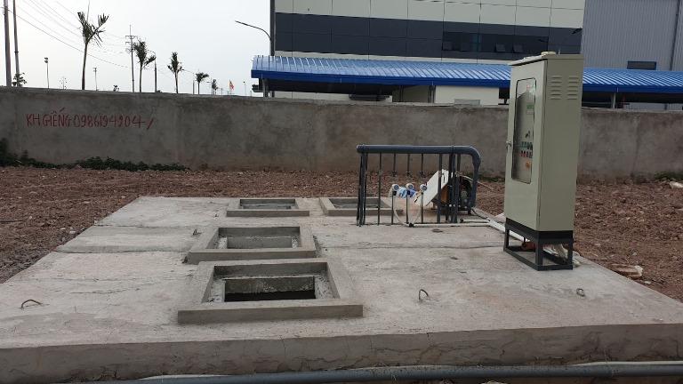 trạm xử lý nước thải sinh hoạt