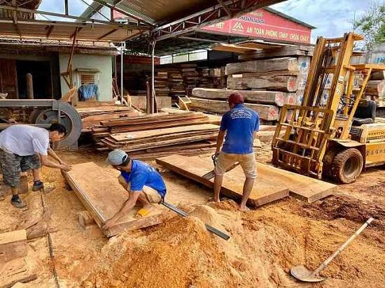 xử lý bụi gỗ