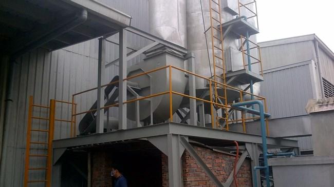 hệ thống xử lý khí thải sản xuất hạt nhựa