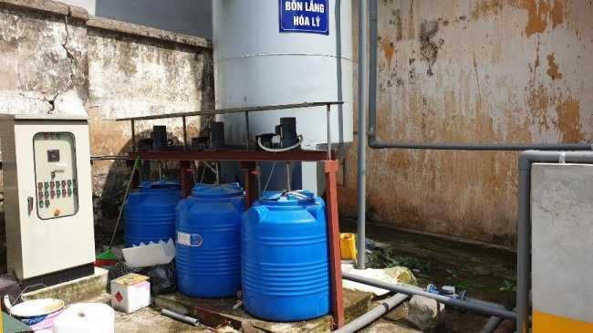 Bể lắng trong xử lý nước thải công nghiệp