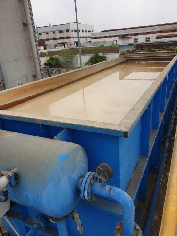 Bể tuyển nổi trong xử lý nước thải công nghiệp