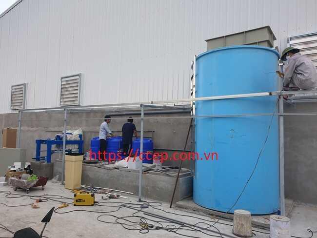 Xử lý nước thải xi mạ crommat nhôm