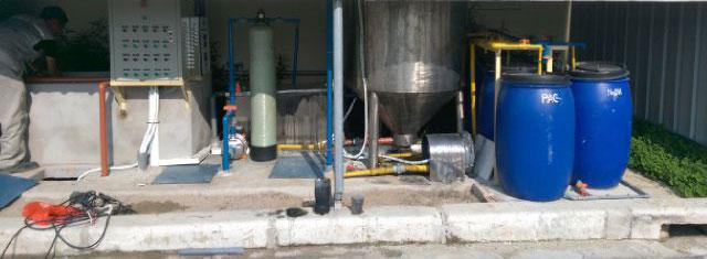 xử lý nước thải mực in