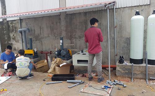 xử lý nước thải sinh hoạt 30m3