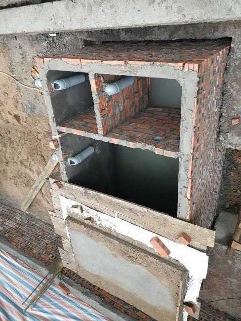 xử lý nước thải sinh hoạt bằng bể tự hoại