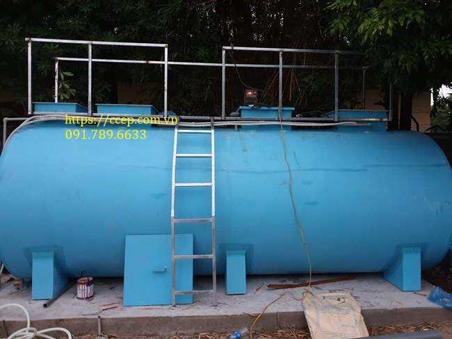 xử lý nước thải sinh hoạt công suất 10m3