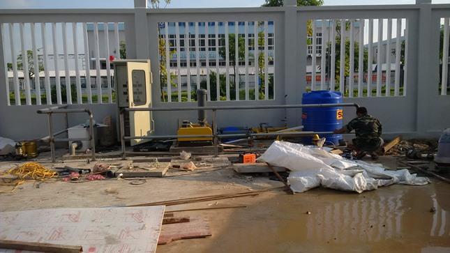 Công trình Hệ thống xử lý nước thải sinh hoạt Fancy Việt Nam
