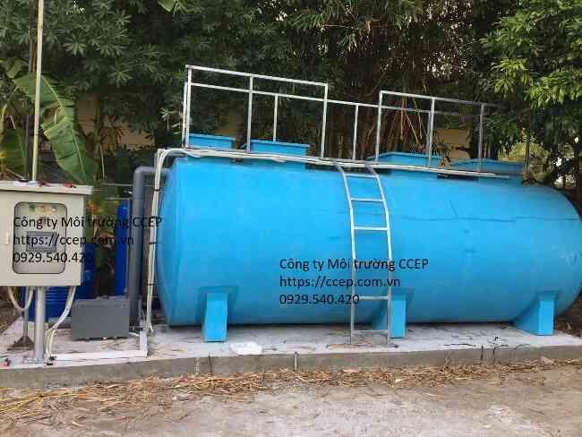 Xử lý nước thải sinh hoạt quy mô nhỏ