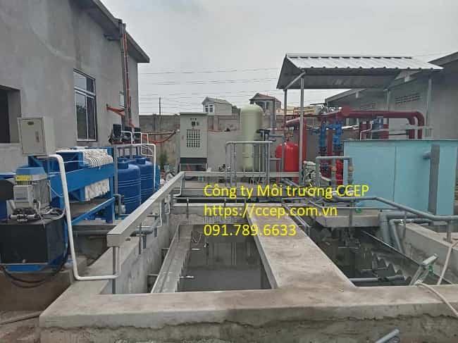 xử lý nước thải xi mạ