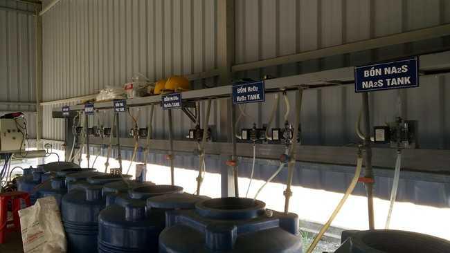 hóa chất xử lý nước thải xi mạ