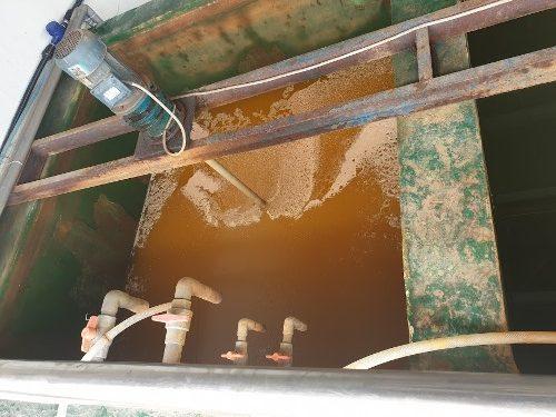 Bể xử lý nước thải xi mạ